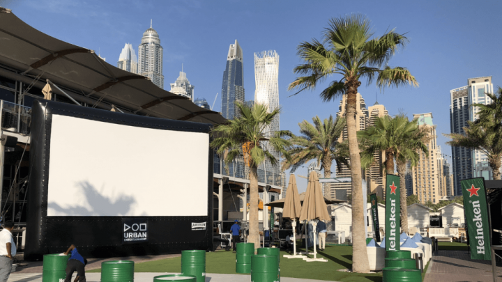 Outdoor Cinema - Urban Entertainment
