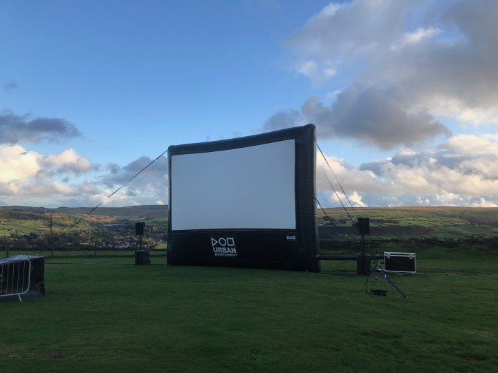 Outdoor Cinema Hire - Urban Entertainment