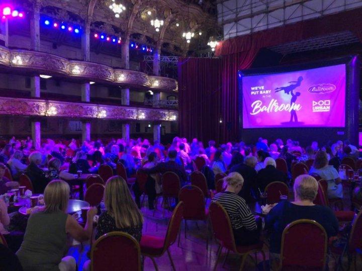 Pop Up Cinema - Blackpool Tower - Urban Entertainment